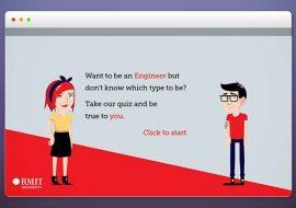 RMIT – True Engineer Micro Site