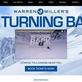 Warren Miller Movie Promotional Site
