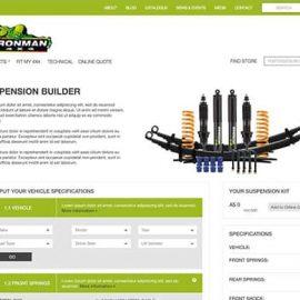 Ironman 4×4 Suspension Builder